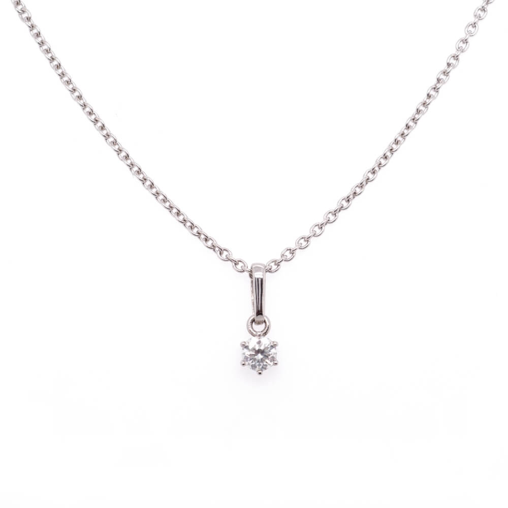 Platinový náhrdelník ANACITIES
