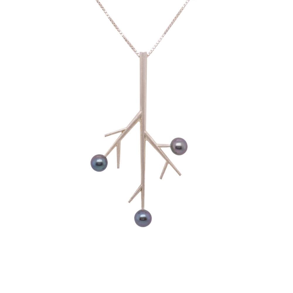 Stříbrný náhrdelník VĚTVIČKA
