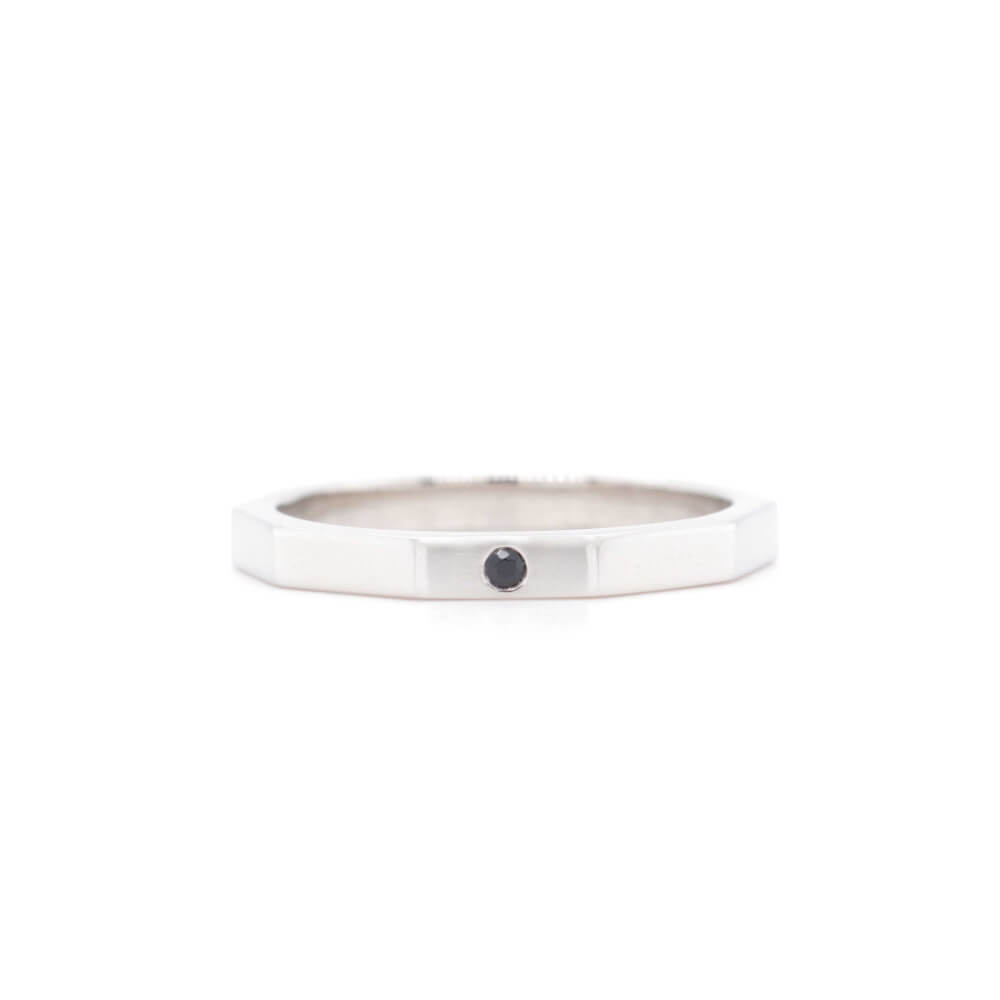Stříbrný prstýnek DESETIHRAN W