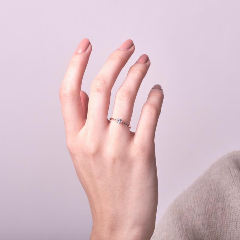 Platinový prsten ESTRELLA