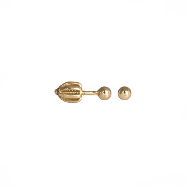 Zlaté náušnice SPHERA M