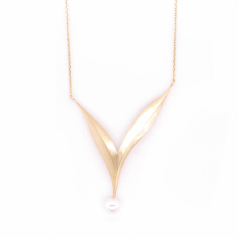 Zlatý náhrdelník ALBA FERRUM