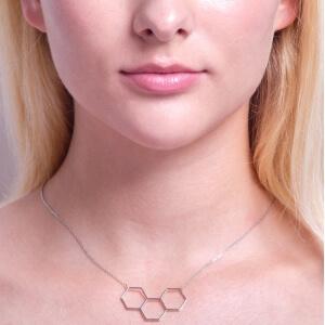 Zlatý náhrdelník FAVUS W